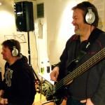 Herman og Bjørn i studio